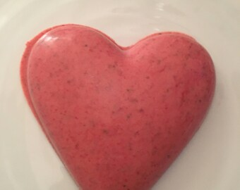 Belgium Strawberry chocolate heart