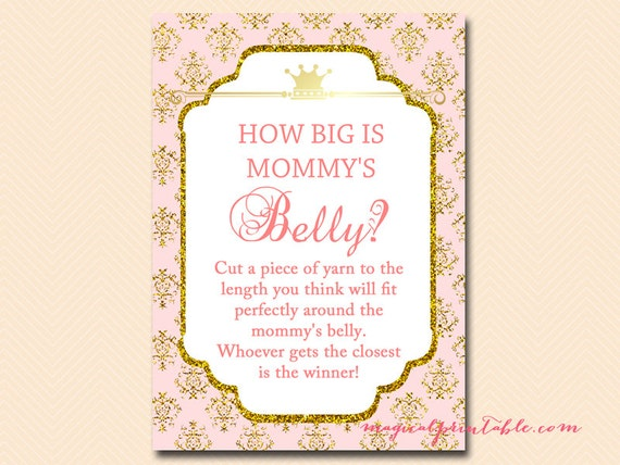Amazing image inside how big is mommy's belly free printable