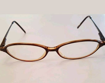 Vintage OP Eyeglass Frames Womens EyewearCV Cocoa Beach Brown Prescription Glasses 47 14 130