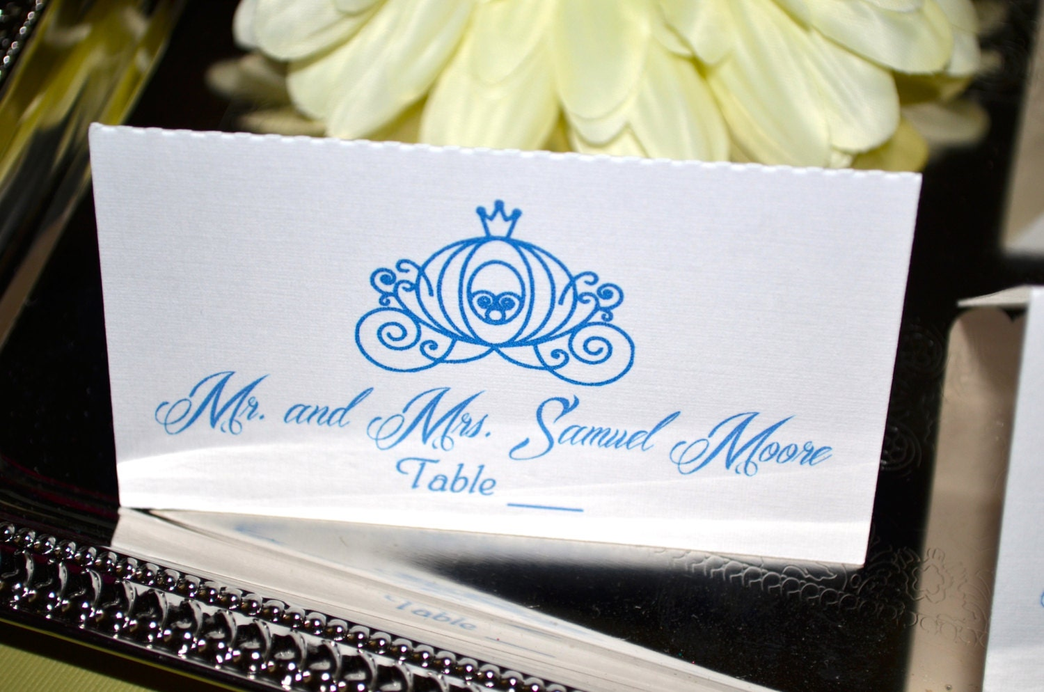 Fairy Tale Wedding Collection - Cinderella Place Cards