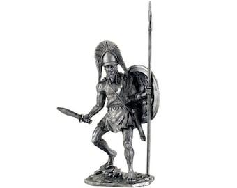 Greece Miniature tin 54mm Lacedaemonius Commander