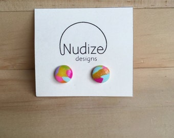 "Handmade statement stud earrings // gifts for her // ""Fruity"""