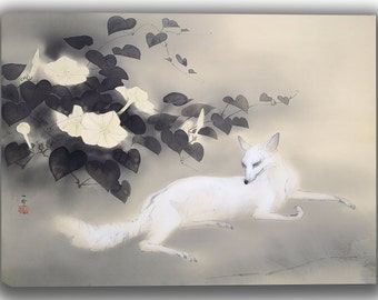 Hashimoto Kansetsu: Summer Evening. Fine Art Canvas. (04063)