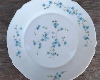 Arcopal France Dinner Plate Veronica Pattern & Arcopal plate | Etsy