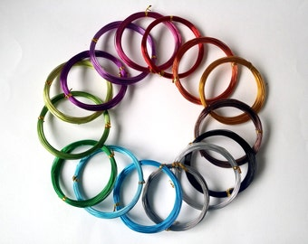 Alluminio filo 1mm, filo di artigianato, gioielli filo - 10 metri!