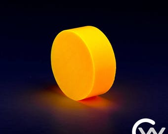 Orange TurboGlow Ring Blank with High Quality Long Lasting Glow