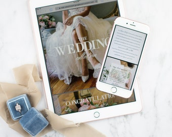 Bidou Wedding Planner Email-Ready Pricing Template // Full Customization // PDF // Marketing Materials // Template // Pricing Guide