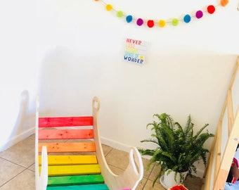 Rocking Toy - Rainbow