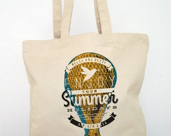 TOTE BAG Canvas shopping Bag  Cotton Organic thick and resistant