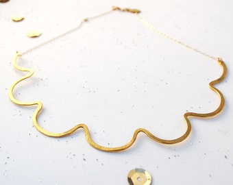 Big Wavy Necklace