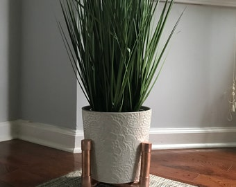 Copper plant stand * Pot INCLUDED*
