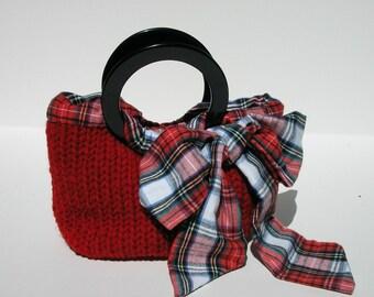 Handbag  Knitting Pattern Knitting Patterns for Handbags Knitting Patterns for Purses Purse Knitting Patterns Gift Knitting Patterns pdf