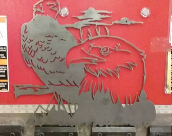 Eagle Metal Wall Hanging