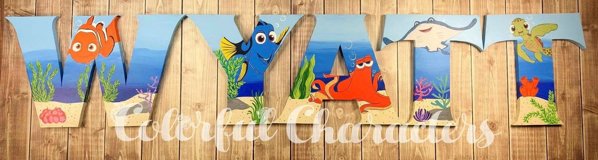 Famous Finding Nemo Wall Art Photos - The Wall Art Decorations ...