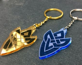 Fire Emblem Heroes Symbol Keychain, Charm, or Necklace || Fire Emblem: Heroes || laser-cut acrylic