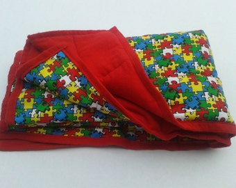 Weighted Blanket, Autism Sleep Aid, Sensory Processing, ADHD