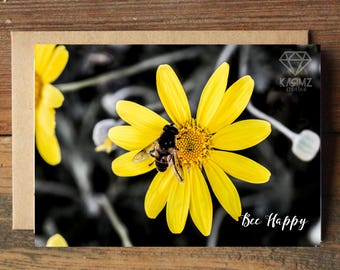 Bee Happy A6 Gift Card