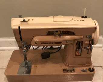 Vintage Singer Sewing Machine 403 A