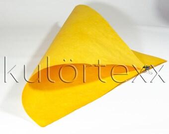 kulörtexx Sun yellow 50 cm x 75 cm 0, 5 mm thick