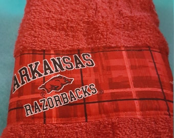 Arkansas Razorbacks Hand Towel
