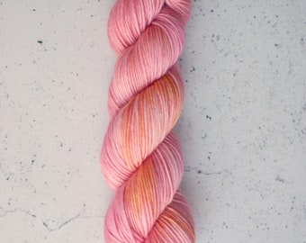 Penelope, Hand Dyed Yarn, Knitting Yarn, Superwash Merino Wool, 100g/231 yards