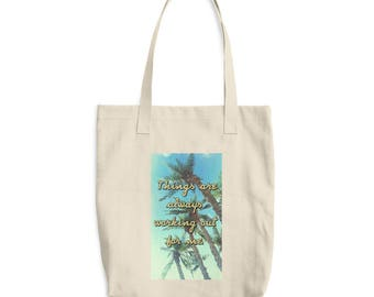 TAAWOFM Cotton Tote Bag