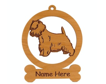 Westie Dog Ornament 084215 Personalized With Your Dog's Name