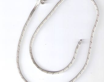 Sterling Silver Necklace Marked 925 Italy Vintage