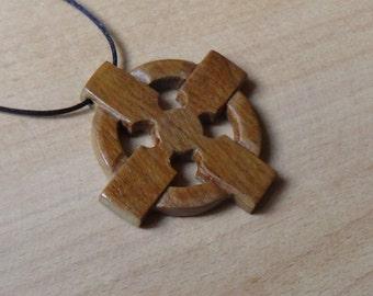 Gift for him Celtic cross pendant celtic mens necklace scandinavian jewelry celtic jewelry viking jewelry nordic jewelry norse for boyfriend