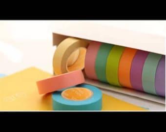Washi Tape Masking Tape colors [random]