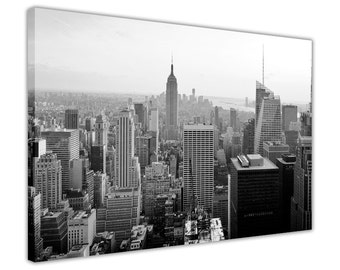 Black and White New York City Images Canvas Prints Wall Art Pictures Home Decoration Framed Modern Art Poster