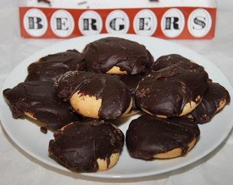 Berger Cookies - Otterbein Cookies - Maryland Cookies - Baltimore Cookies - Famous Maryland Cookies - Fudge Cookies - Edible Cookies