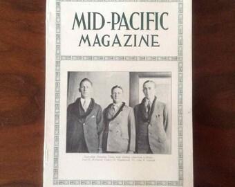 "Vintage  ""Mid-Pacific Magazine"" - Volume XXXIII, No. 3 - March 1927"