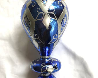 Laved Gifford Collection Limited Edition Cobalt Three Tiered Ornament Made in Italy
