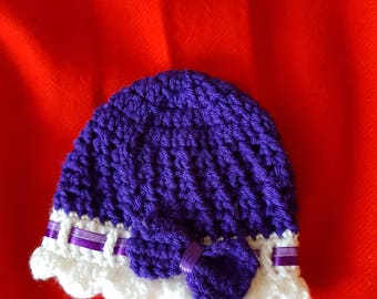 Baby girl hat 0-3 month