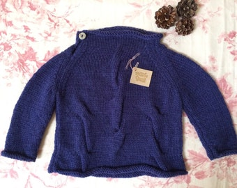 Lovely hand knit toddler sweaters/jumpers