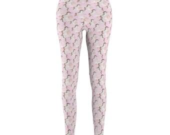 Unicorn Leggings, Leggings, Unicorn, Yoga Leggings, Rainbow Leggings, Unicorn Pants, Printed Leggings, Yoga Pants, Unique Leggings, Womens