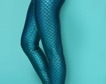 yoga pants, mermaid leggings, colorful leggings, printed leggings, mermaid costume, leggings yoga, glitter leggings, yoga leggins, fish pant