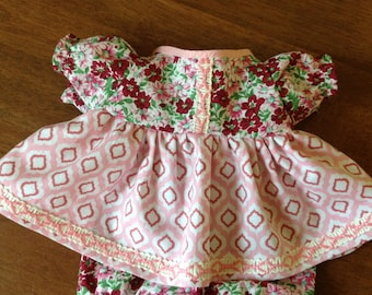 """Handmade 15"""" Doll Clothes,  15 inch doll clothes, 15"""" baby doll clothes, 15"""" doll dress ,16"""" doll clothes"""