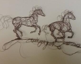 2 horses running 11.21.2017