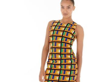 Tife Simple Round Neck Dress