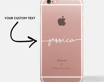 personalised iphone case, personalized iphone 7 case, personalized iphone 6 case, personalized iphone 8 case, iphone 6 plus case  [UK MADE]