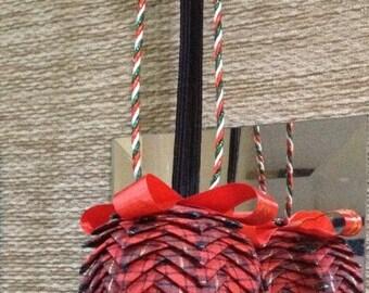 Tutorial - Folded Christmas Bauble