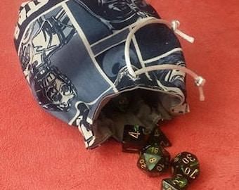 Navy Star Wars Dice Bag