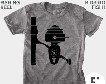 Fishing Reel - Boys & Girls Unisex Shirt
