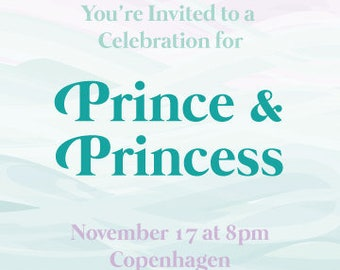 PRINTABLE Invitation Suite - Seaside Princess