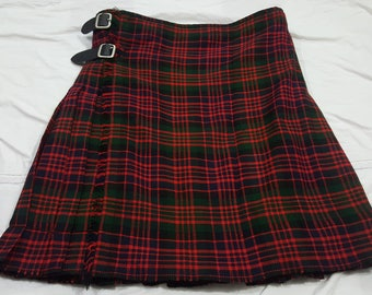 SALE MacDonald Tartan kilt Custom Made Size Length