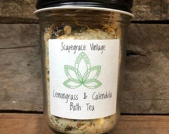 Lemongrass & Calendula Bath Tea