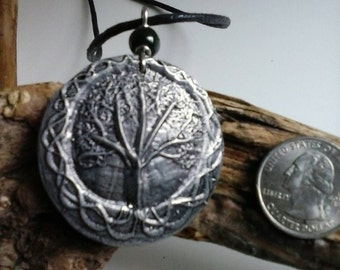 Tree of Life hand cast pewter pendant