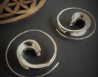 silver earrings *simple*